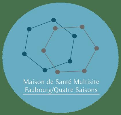 Logo Association Pôle de Santé Faubourg 4 Saisons