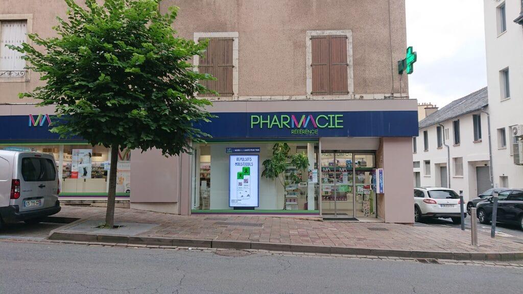 Façade Pharmacie Arnaud
