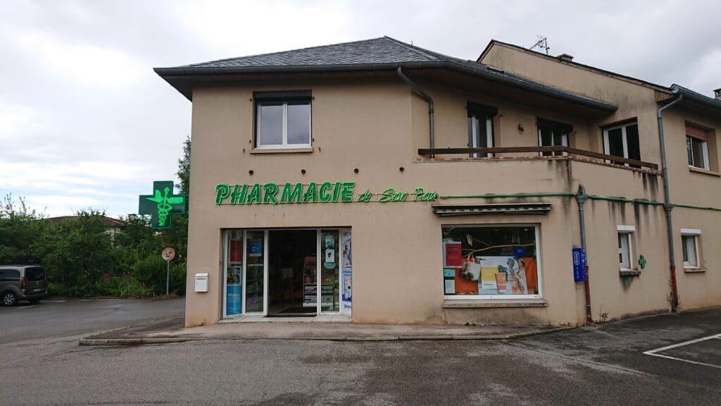 Façade Pharmacie De San Pau
