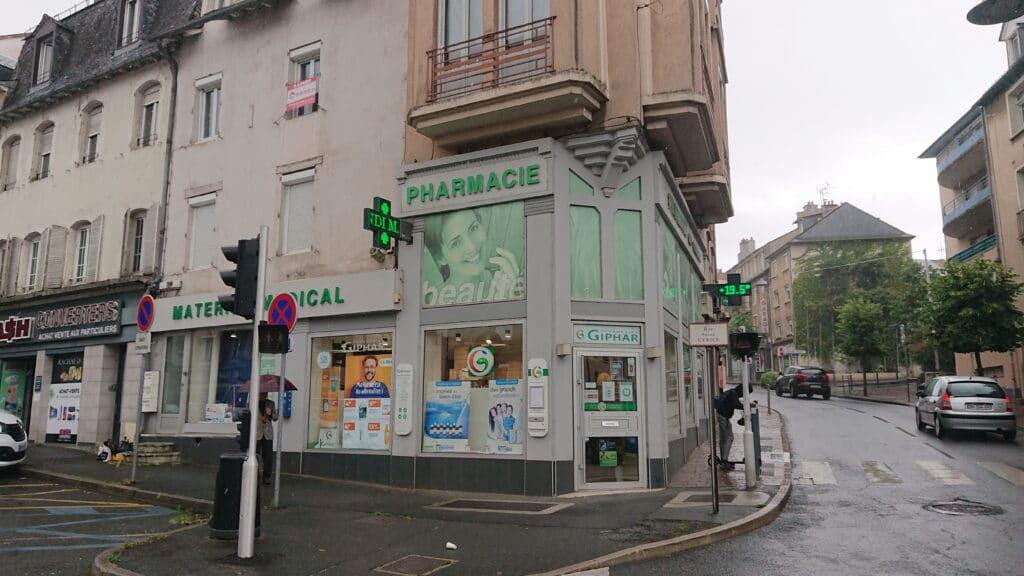 Façade Pharmacie Du Faubourg