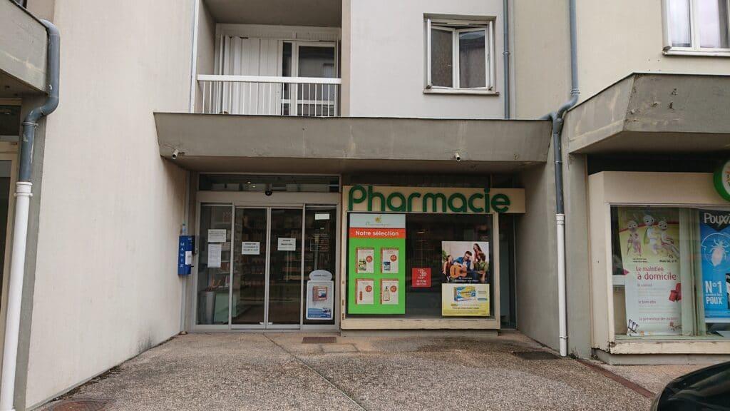Façade Pharmacie Franques Tardieu Christine