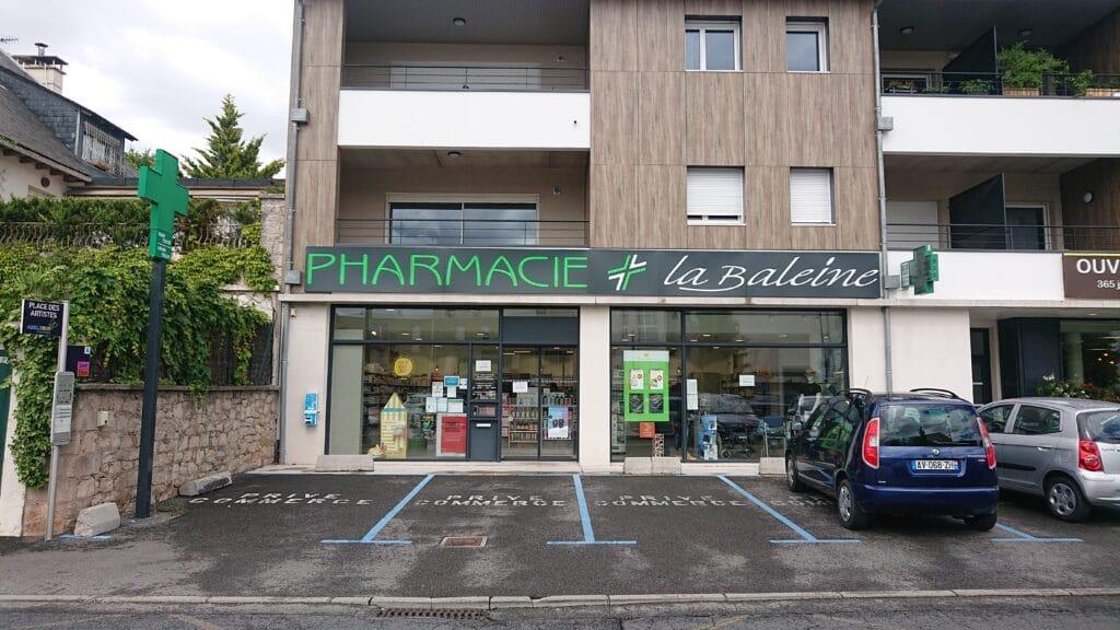Façade Pharmacie La Baleine