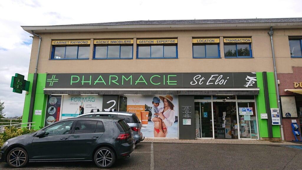 Façade Pharmacie Saint Eloi