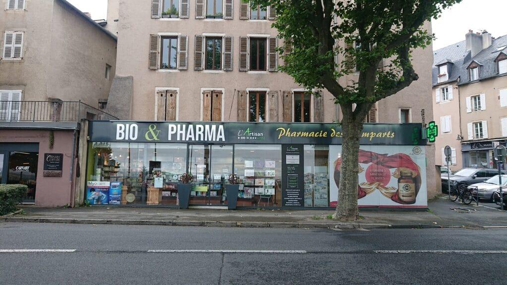 Façade Pharmacie des Remparts